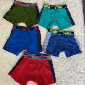 Puma 5-pack Boxer Shorts for boys